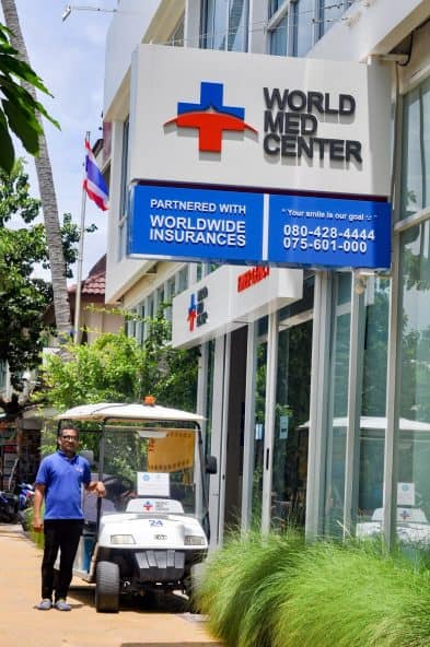 Worldmed hotel call service